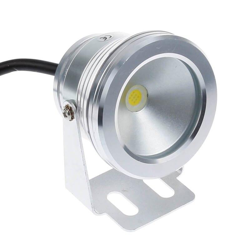10W LED yüzme havuz ışığı sualtı su geçirmez IP67 peyzaj lambası sıcak/soğuk beyaz AC/DC 12V 900LM