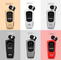 FineBlue F920 Auriculares inalámbricos, Auriculares con controlador Bluetooth, recordatorio de llamadas, Clip para ropa para deportes correr para teléfono