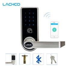 LACHCO Bluetooth смартфон электронный дверной замок приложение управление, код, механические ключи для домашнего отеля умный вход L16073AP