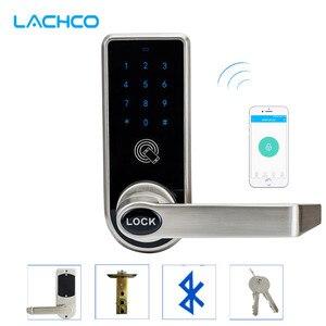 Электронный дверной замок LACHCO с Bluetooth, управление через приложение, код, механические клавиши для дома, отеля, умный вход L16073AP