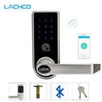 LACHCO Bluetooth Điện Thoại Thông Minh Khóa Cửa Điện Tử APP Kiểm Soát, mã, Các Phím cơ học Cho Khách Sạn Nhà Thông Minh Nhập L16073AP