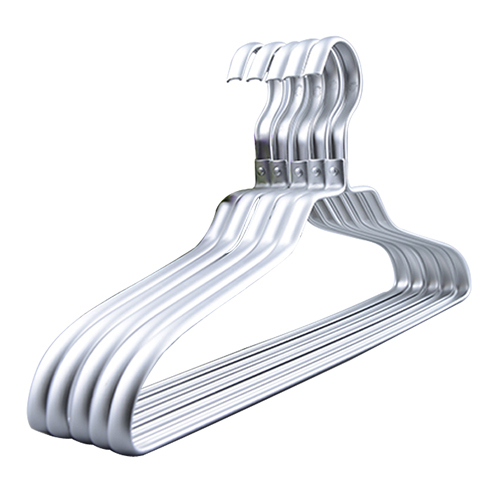 10 Pieces Lot Metal Aluminum Hangers Shirts Clothes Hanger In
