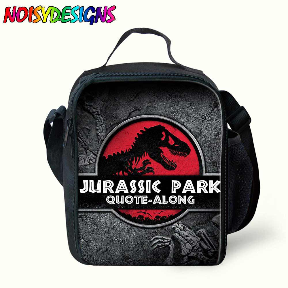 Bolsas para Bolsa de Comida para Crianças Almoço para Meninas Bolsas de Piquenique Jurassic Mundo Almoço Isolado Mensageiro Dinossauros Bolsa Meninos Primavera Viagem