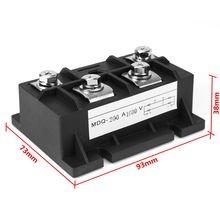 1 шт. Новое поступление 122241581320 150A 1600 в диодный модуль однофазный мостовой выпрямитель MDQ-200A Выпрямители