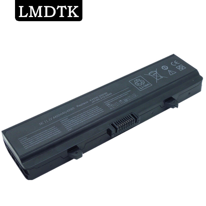 LMDTK New 6cells laptop battery FOR <font><b>DELL</b></font> <font><b>Inspiron</b></font> <font><b>1750</b></font> 1440 0F972N 312-0940 J414N K450N free shipping image