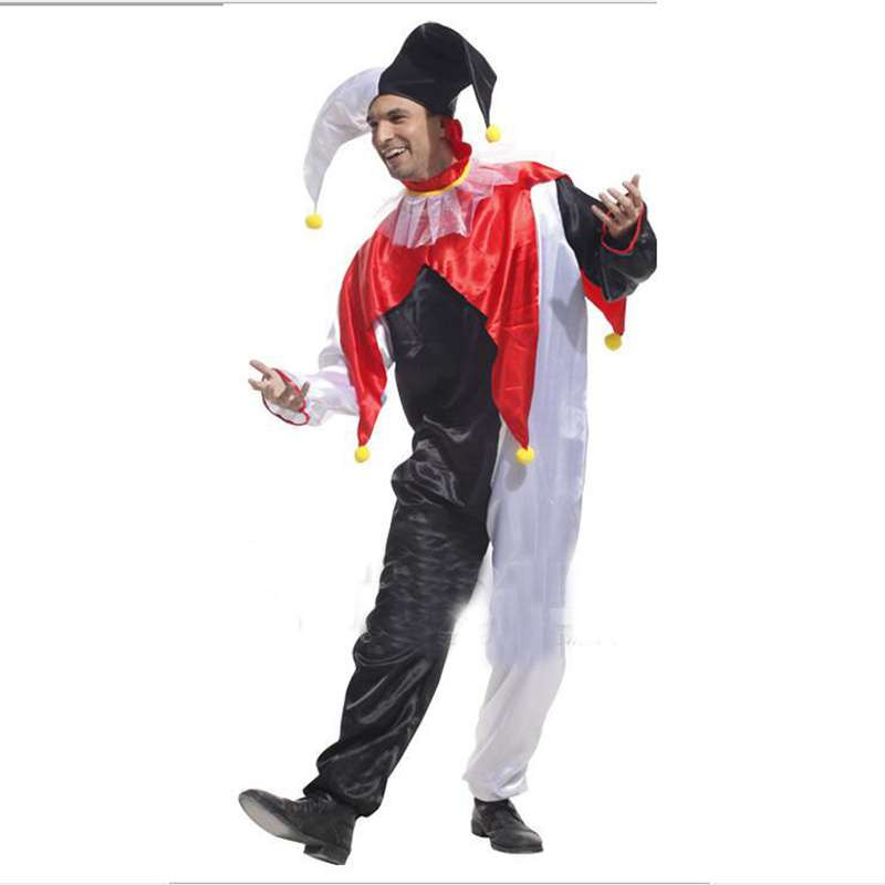 Costumes Stage Performance Clothing Men In Black And White Clown Costume Party Cosplay Costume-in Holidays Costumes from Novelty u0026 Special Use on ...  sc 1 st  AliExpress.com & Costumes Stage Performance Clothing Men In Black And White Clown ...
