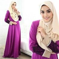 Fashion Women Islamic Kaftan Abaya Vintage Jilbab Hot Drilling Robe Dress Hui Women Dress Pakistan Worship