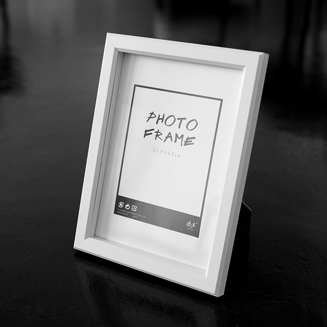 Free Shipment A4 photo frames White European style fit for paper ...
