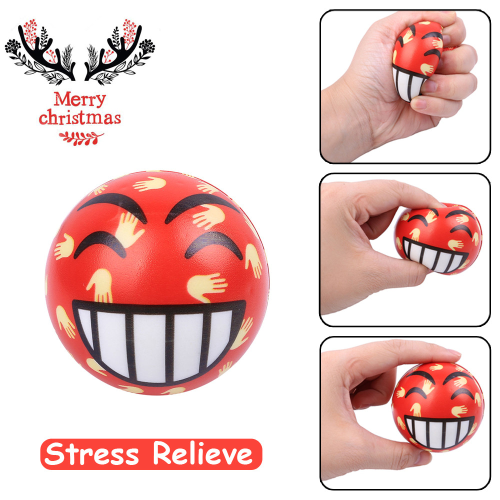 Original Kawaii Cute Lovely Christmas Present Cry Ball Elasticity Rising Kids Skuishy Toys Gift Toys Dropshopper