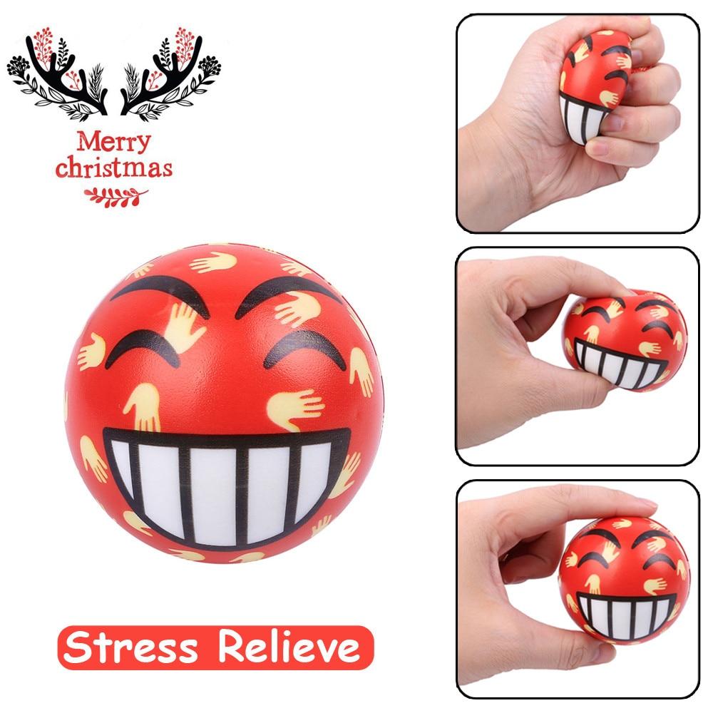 Original Kawaii Cute Lovely Christmas Present Cry Ball Elasticity Rising Kids Skuishy Toys Gift Toys Dropshopper
