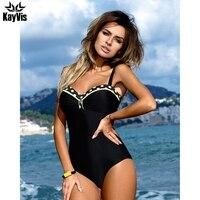 KayVis New 2017 Sexy One Piece Swimsuit Female Bodysuit Brazilian Monokini Swimwear Women One Piece Bathing