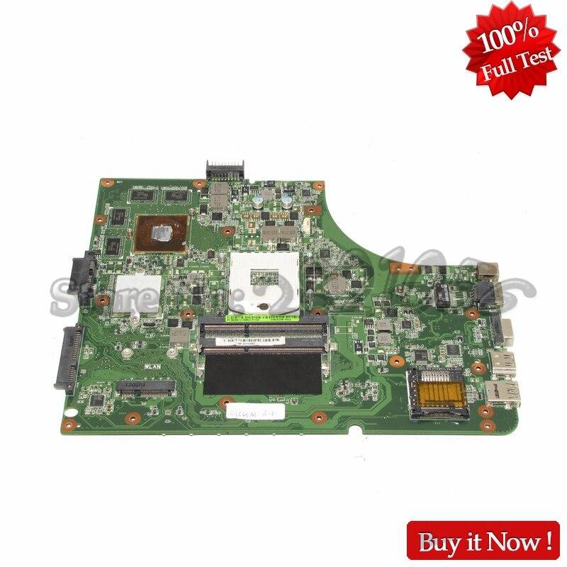 NOKOTION Laptop Motherboard For Asus K53S X53S A53S K53SV REV 2 3 PC Main Board HM65