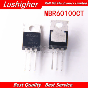 Image 3 - 5pcs V60100C MBR60100CT TO220 TO 220 Diodo Schottky 60A 100V Originale