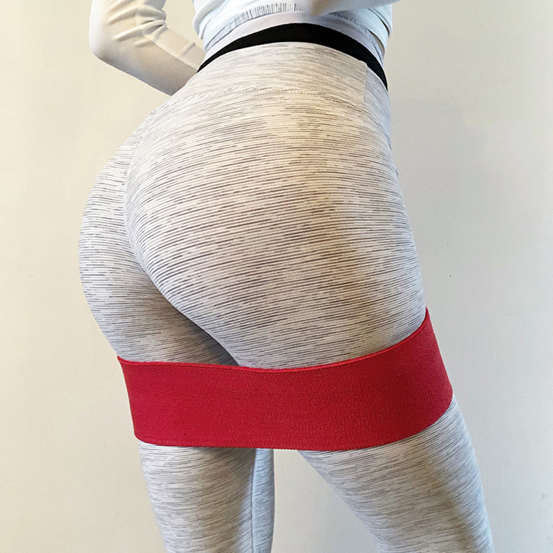 Resistance Hip Bands Premium Exercise Bands For Booty Thigh Glutes Soft Non-slip Design Loop Set Fitness Unisex String Chest