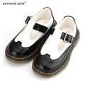 CCTWINS KIDS spring autumn baby boy fashion shoe children black flat pu leather girl brand casual shoe toddler white G912