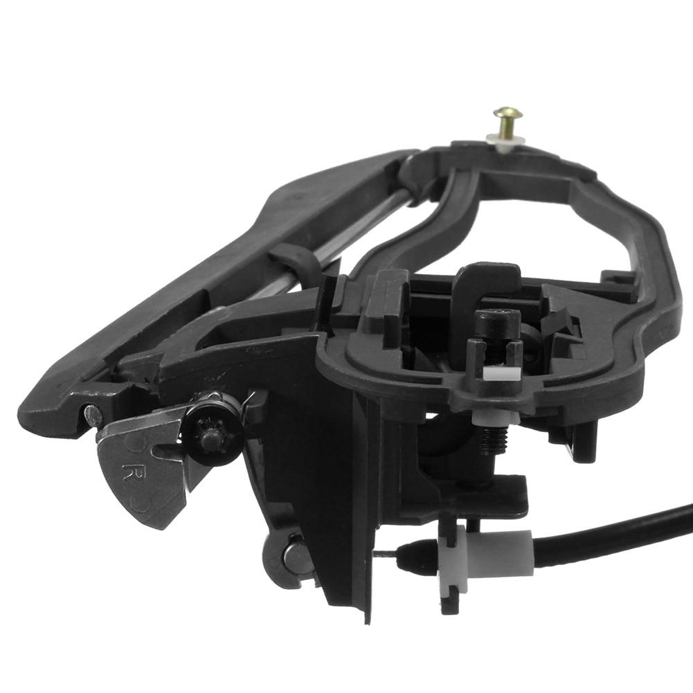 Front//Rear Left Outside Door Handle Primered for 00-06 BMW X5 E53 51218257737