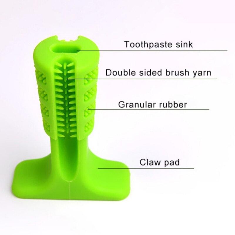 Perro cepillo de dientes cepillado palo mundo eficaz cepillo de dientes para perros higiene juguete cepillado palo para molares cepillo de dientes