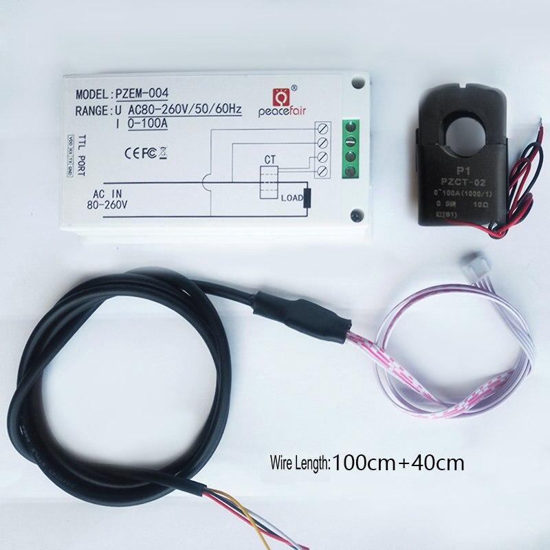 8 canaux amélioré quatre voies Wifi capteur App surveillance en ligne AC Led affichage numérique tension consommation d'énergie actuelle