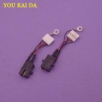 1 stücke Neue DC Jack mit Kabel Anschluss Buchse fit lade port dock stecker für Toshiba AT100 AT105 DC Jack power-in Steckverbinder aus Licht & Beleuchtung bei