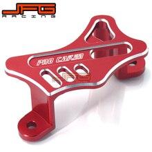 On sale CNC Rear Brake Caliper Guard Protector For CR125 CR250 02-08 CRF250R CRF250X 04-17 CRF450X CRF450R 05-17 CRF450RX Motorcycle