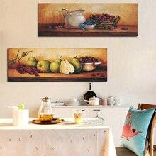 Pintura al óleo de frutas Vintage, cartel de cocina impreso en lienzo, arte escandinavo, cuadro de pared para sala de estar, habitación, decoración del hogar