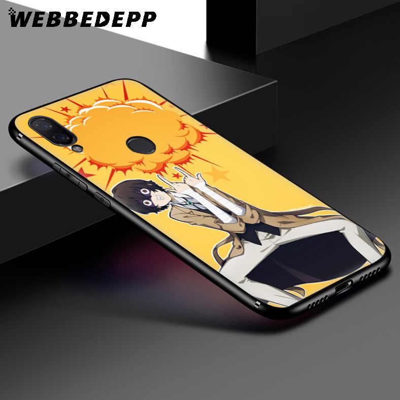 WEBBEDEPP Bungou Sokak Köpekleri Anime Yumuşak Kılıf Xiaomi Redmi K20 7A 4A 4X5 5A 6 6A S2 not 8 4 4X5 6 5A 7 Pro Artı Başbakan