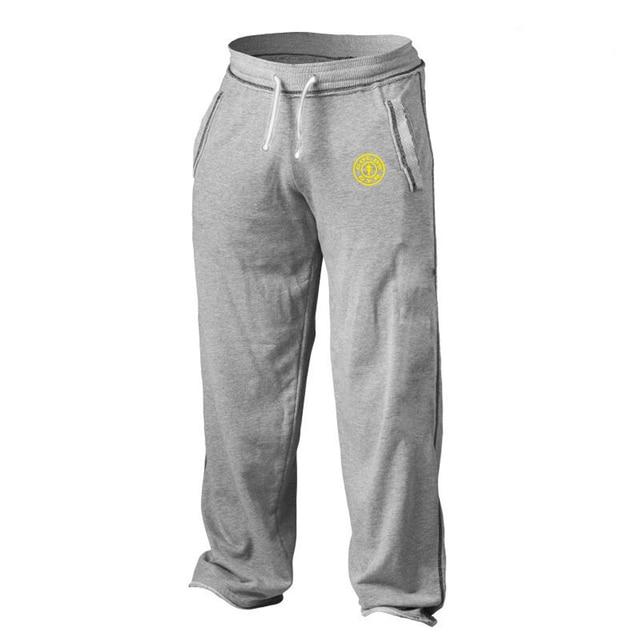 Golds Sportwear Mens Bodybuilding Gymwear Pants Casual Men Clothing Joggers Cotton Trousers Professional Fitness Size M L XL