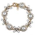 Aliexpress Hot Selling Vintage Crystal Flower Bracelets Fashion Women Bracelet Jewerly ( Mixed order is USD15 )