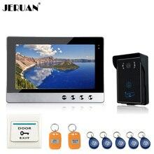 JERUAN New 10″ TFT  Door Monitor Video Intercom Home Door Phone intercom System Supported Waterproof Rain Cover tamper alarm
