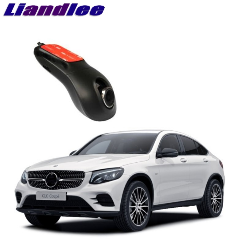 Liandlee For Mercedes Benz GLC MB X253 C253 2015~2018 Car Black Box WiFi DVR Dash Camera Driving Video Recorder