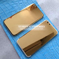 24k Gold Housing for Iphone 7 Housing Style for Iphone 6 6 Plus 6s 6s Plus Housing 24k Gold Metal Frame Cover Replacement DHL