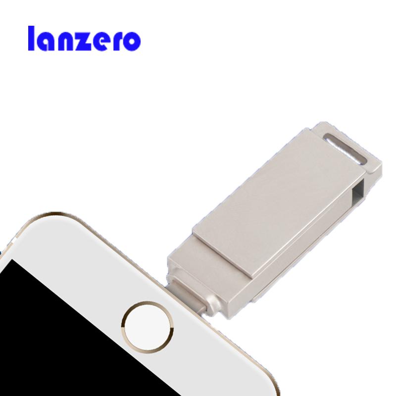 Prix pour Pour iphone otg usb flash drives 32 gb 16 gb 64 gb capacité d'expansion pour iphone7/5S/5c/6/6 s/6 plus ipadair/air2, mini/2/3 ipod mac pc