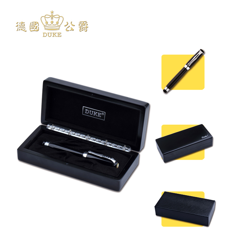 Free Shipping Germany Duke Luxury Fountain Pen High Quality Iraurita Ink Pen Business Gift and Office Pens with An Original Box jinhao free shipping fountain pen and bag high quality man women pens business school gift send friend father 027