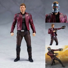 Disney Marvel Avengers 3 Star Lord 15cm Action Figure Anime Mini Decoration PVC Collection Figurine Toy model for children gift