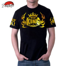 SUOTF K1 fighting Buakaw Muay Thai MMA Fight punch knee sweatshirt muay boxing shorts Martial arts Sparring bad boy mma men jaco(China)