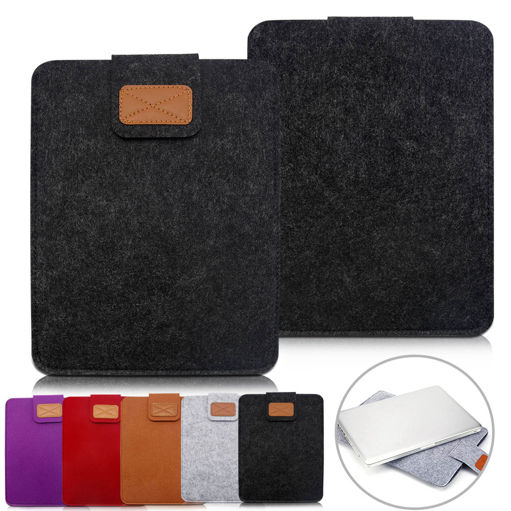 Eagwell 10 Universal Woolen Felt Sleeve Bag Pouch Case For 10 inch Tablets PC Bag Pouch Cover For iPad Air 1 2 for iPad 2 3 4 7 9 13 sleeve bag case universal wool felt fabric tablet cover for ipad 2 air 1 mini huawei 10 1 inch samsung mipad pouch capa