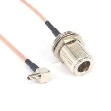 5 шт./лот 6 ''н Женский Джек TS9 штекер косичка кабель коаксиальный джемпер переборка уплотнительное кольцо