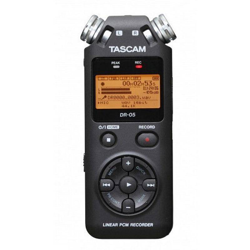 TASCAM dr-05 Portable Digital Voice Recorder audio recorder MP3 Penna di Registrazione Versione 2 con 4 gb micro SD e1-002