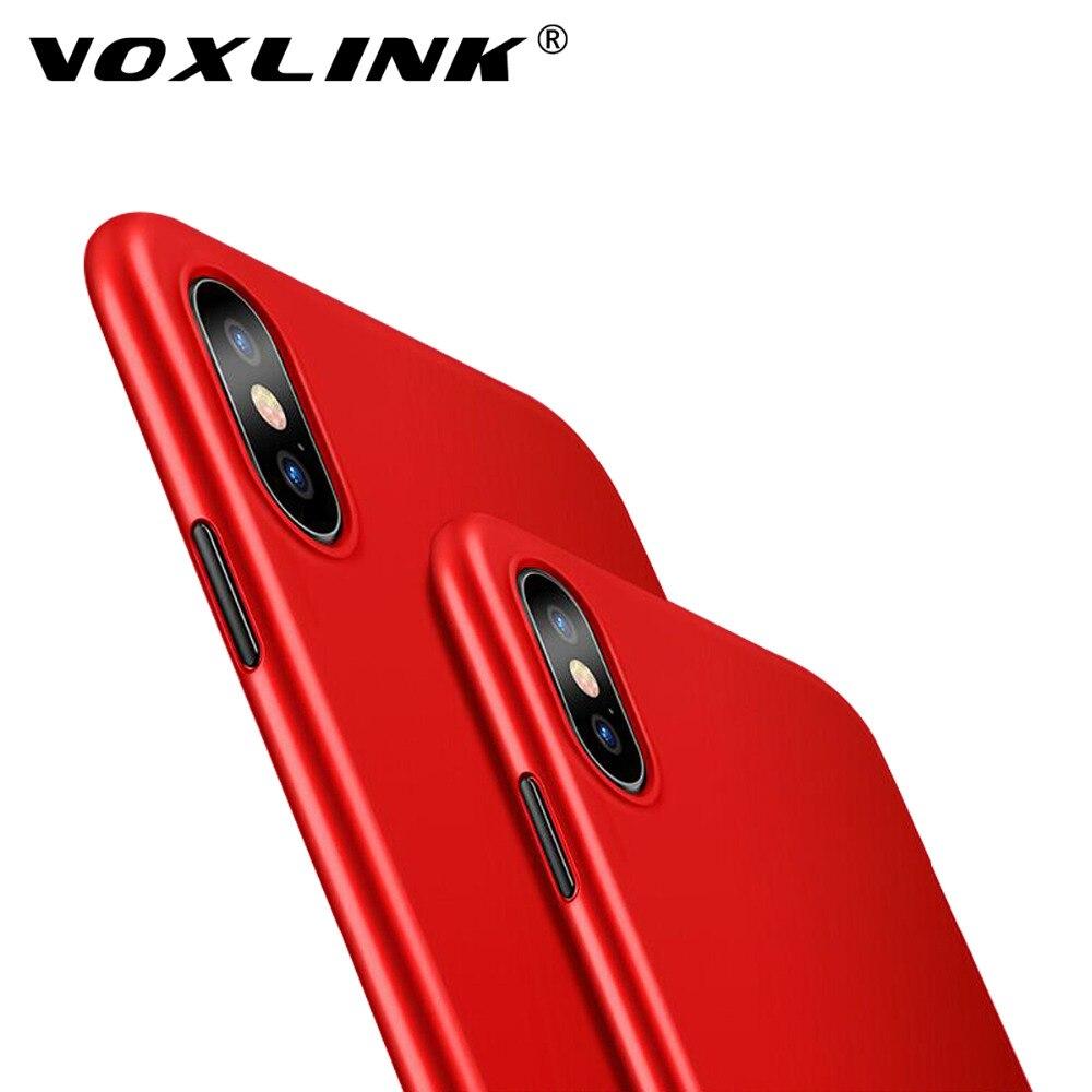 Voxlink для Apple IPhone X случае ультра тонкий матовый Мягкий гель ТПУ чехол В виде ракушки кожи для Apple IPhone X IPhone 10 чехол
