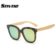 Snvne Bambú sunglases lentes oculos lunette de soleil gafas de sol feminino masculino hombre de madera gafas mujeres de Los Hombres de las mujeres