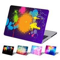 Art Print Graffiti Plastic Hard Laptop Case voor MacBook Air Pro Retina 11 12 13 15 Inch Case voor Macbook A1707 A1706 A1708 Case