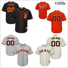 ec2e1828 ... MLB san Francisco Giants Hombres Negro Alternativo 2017 Bajo Fresco  Jersey de Encargo(China) ...