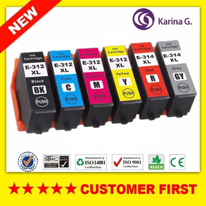 Compatible Pour Epson T312XL 312XL E-312XL 312 314XL E-314XL T-314XL cartouche dencre Pour Epson Expression Photo XP-15000 etc.Compatible Pour Epson T312XL 312XL E-312XL 312 314XL E-314XL T-314XL cartouche dencre Pour Epson Expression Photo XP-15000 etc.