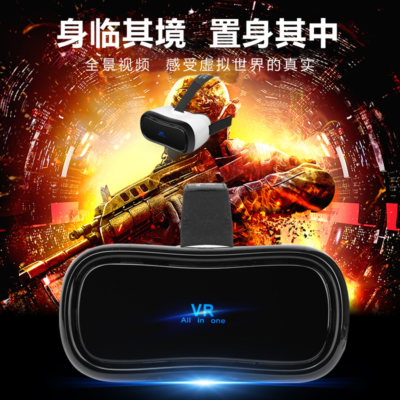 ONES All in One font b VR b font Headset New 360 All in one Virtual