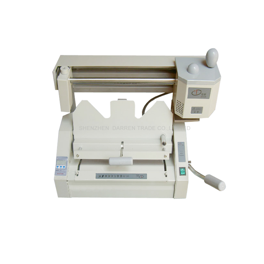 A3 multi-functional book binding machine,perfect glue binding machine with LCD,DC-30A glue book binder machine  цены