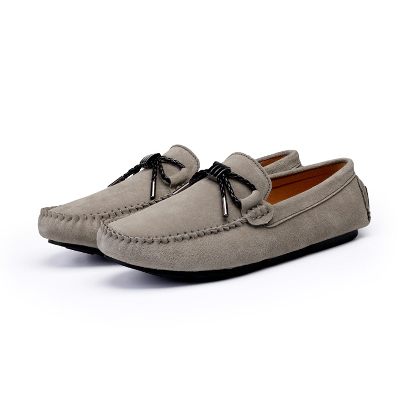 6 Black Para 5 10 Slip navy Ee Casual grey Primavera Hombre Loafer Ocio Hombres red uu Conducción Colores On Barco Zapatos apricot Tq57W74w