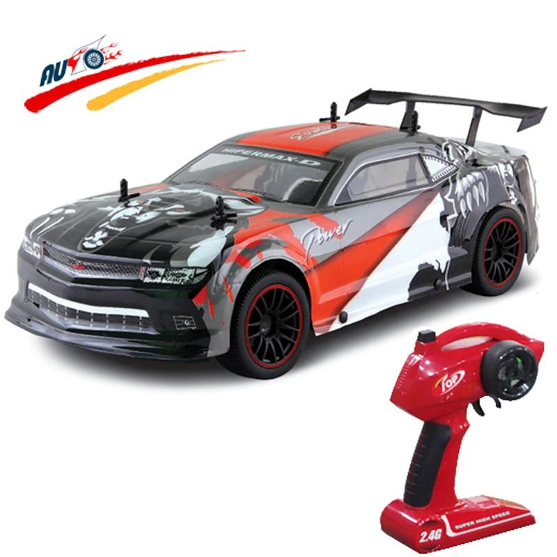 ФОТО RC Car 1:10 2.4G Racing Car For Chevrolet Camaro High Speed Champion Car Radio Control Vehicle Racing Car Model Electric RTR Toy