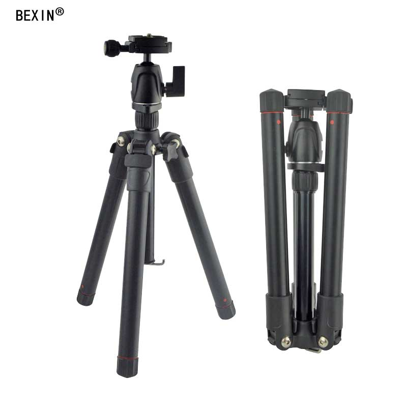 цены Light weight Portable Professional Travel Camera Tripod Monopod aluminum Ball Head compact for digital SLR DSLR camera