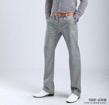 2017 new high quality summer Men's Linen cotton Pants men Casual Stretch trousers Men's Clothing pants Size