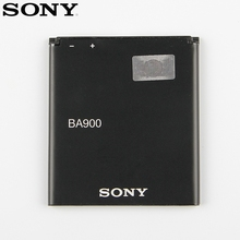 Original Replacement Sony Battery For SONY Xperia E1 GX TX LT29i SO-04D S36H ST26I C1904 C2105 AB-0500 BA900 Genuine 1700mAh sony original phone battery ba900 1700mah for sony xperia e1 s36h st26i ab 0500 gx tx lt29i so 04d c1904 c2105 retail package